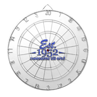 Established in 1952 dartboard