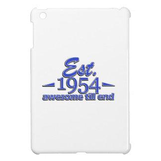 Established in 1954 iPad mini cover