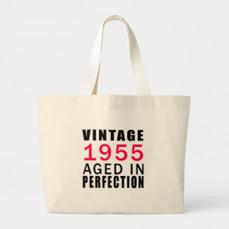 Established In 1955 Aged In Perfection Jumbo Tote Bag