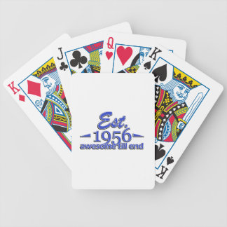 Established in 1956 bicycle playing cards