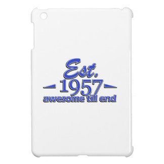 Established in 1957 cover for the iPad mini