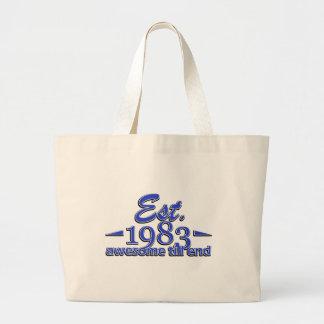 Established in 1983 bag