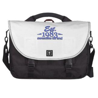 Established in 1983 laptop commuter bag