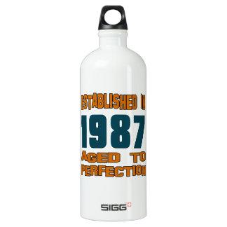 Established In 1987 SIGG Traveler 1.0L Water Bottle