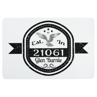 Established In 21061 Glen Burnie Floor Mat