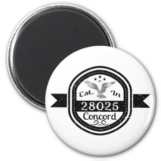 Established In 28025 Concord Magnet