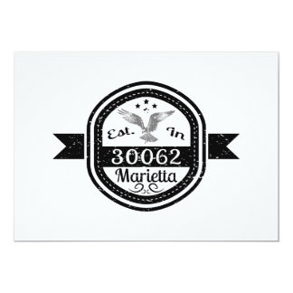 Established In 30062 Marietta Card