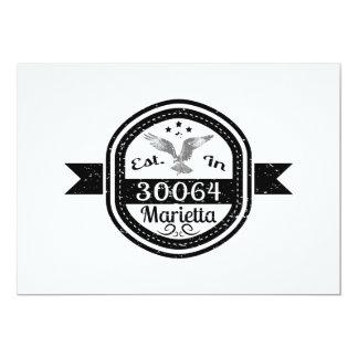 Established In 30064 Marietta Card