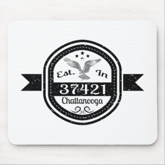 Established In 37421 Chattanooga Mouse Pad