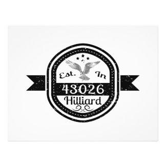 Established In 43026 Hilliard Flyer
