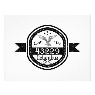 Established In 43229 Columbus Flyer