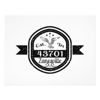 Established In 43701 Zanesville Flyer