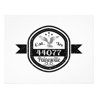 Established In 44077 Painesville Flyer