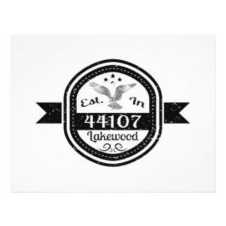 Established In 44107 Lakewood Flyer