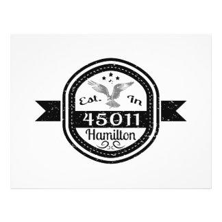 Established In 45011 Hamilton Flyer