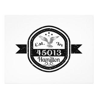Established In 45013 Hamilton Flyer