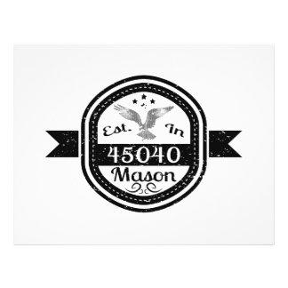 Established In 45040 Mason Flyer