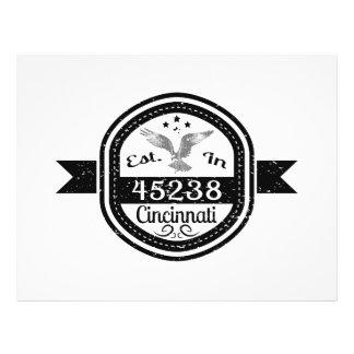 Established In 45238 Cincinnati Flyer
