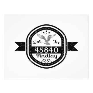 Established In 45840 Findlay Flyer