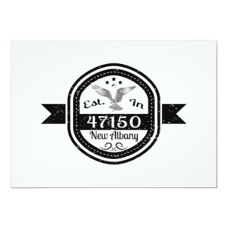 Established In 47150 New Albany Card