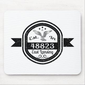 Established In 48823 East Lansing Mouse Pad