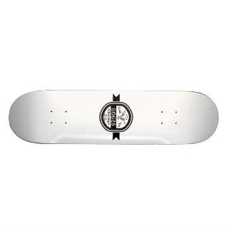 Established In 60625 Chicago Skateboard Deck
