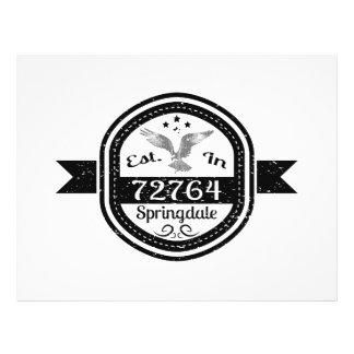 Established In 72764 Springdale Flyer