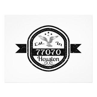 Established In 77070 Houston Flyer