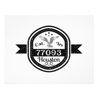 Established In 77093 Houston Flyer