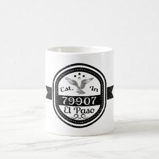 Established In 79907 El Paso Coffee Mug