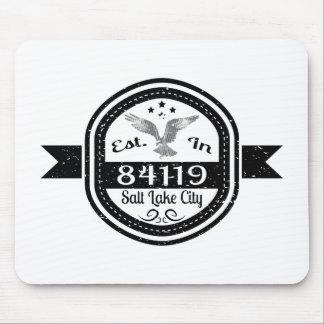 Established In 84119 Salt Lake City Mouse Pad