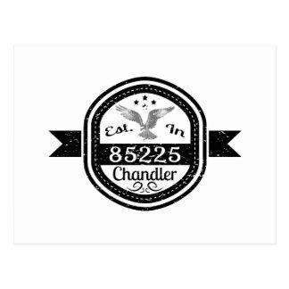 Established In 85225 Chandler Postcard