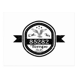 Established In 85282 Tempe Postcard