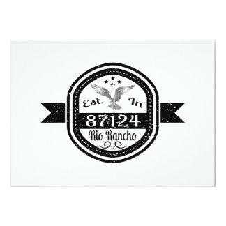 Established In 87124 Rio Rancho Card