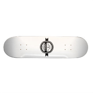 Established In 90004 Los Angeles Skateboard