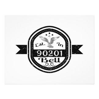 Established In 90201 Bell Flyer