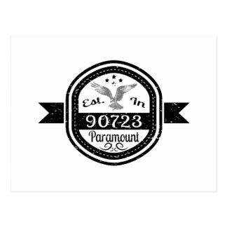 Established In 90723 Paramount Postcard