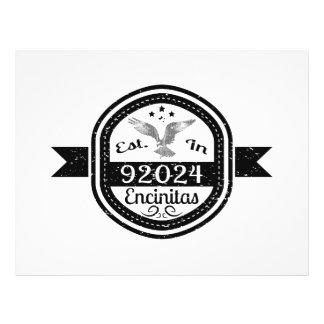 Established In 92024 Encinitas Flyer