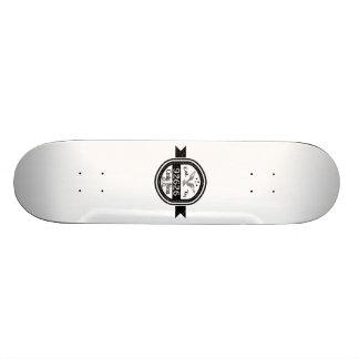 Established In 92626 Costa Mesa Skateboard Deck