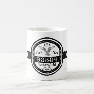 Established In 93304 Bakersfield Coffee Mug