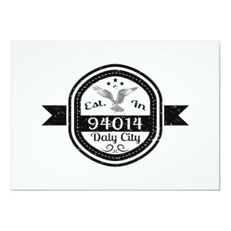 Established In 94014 Daly City Card