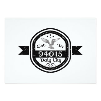 Established In 94015 Daly City Card