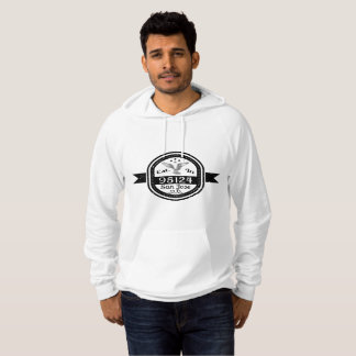 Established In 95124 San Jose Hoodie