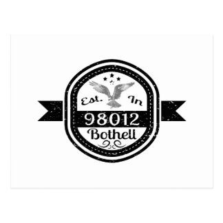 Established In 98012 Bothell Postcard