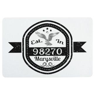 Established In 98270 Marysville Floor Mat