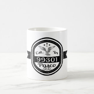 Established In 99301 Pasco Coffee Mug