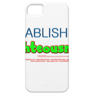 Established in Righteousness - Isaiah 54:14 iPhone 5 Covers