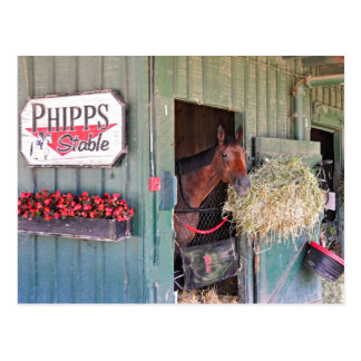 Establos de Ogden Phipps con Scampering Postal
