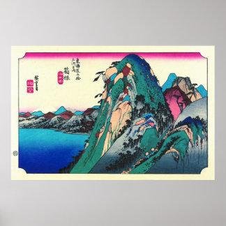 Estación 1833 de Hakone Poster