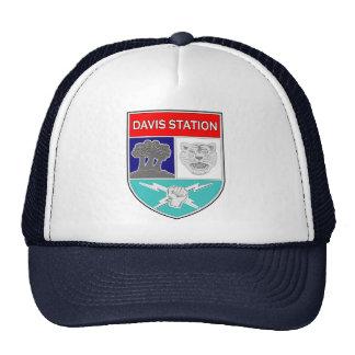 Estación 1 del ASA Davis Gorros